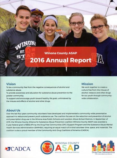 Winona, County, ASAP, Annual, Report, Prescription, Drug, Daily, News