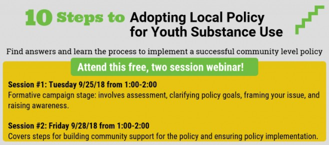 WORKSHOPS: Informing local policy