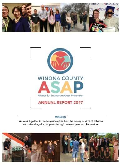 2017, Winona, County, ASAP, Annual, Report