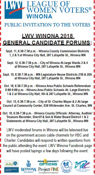 League, Women, Voters, Winona, County, ASAP